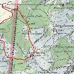Parcourt depuis la Côte-aux-Fées suisse