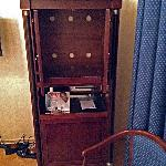 Empty TV Cabinet