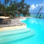 Pongwe beach hotel pool