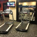 Fitness room - treadmills