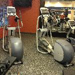 Fitness room - ellipticals & bike