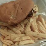 BBQ Rib Sandwich & Fries