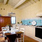 Villa Fienile Kitchen