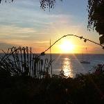 Sunset auf der Terrasse