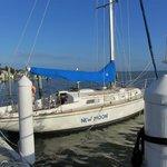 New Moon Sailing Photo