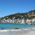 Clifton 4 beach looking towards 1 2 & 3