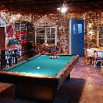 Our free game room offers pool, pac man, and wireless Internet.