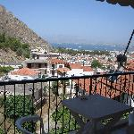 Very  nice view of the fort and the center of Nafplion