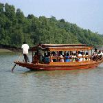 Boating at Bhitarkanika National Park, Orissa, India