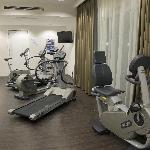 Gym at hotel Lumen