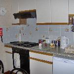 The well equipped kitchen, everything you need