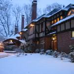 Snowy winter evening at Gramercy