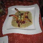 Speciality shrimp dinner