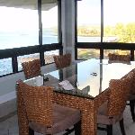 View off dining roonm