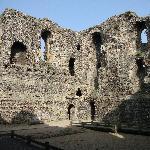 Canterbury Castle interior