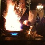 Bananas Foster: Dinner and a show!