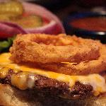 Original Athens Burger with buffalo burger patty