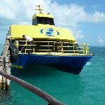 Le bateau que l'on a pris