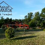 Front view of Maison Nomade