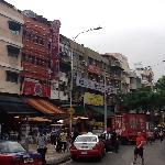 'Jalan Alor' the famous hawker food street in-front of hotel
