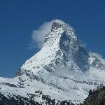 The Matterhorn from Zermatt.