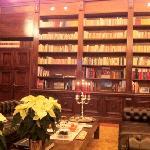 prendre le thé dans la bibliotheque...