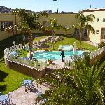 Pool und Innenhof