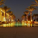Long Pool at night