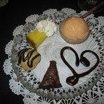 petit fours for dessert