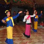 Thai dancing show on Christmas