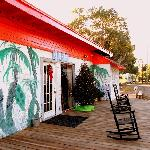 Artsy Clubhouse Cammo...Old Florida-style.
