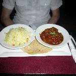 Indisches Abendessen im Hotel