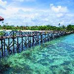 Borneo Divers pier