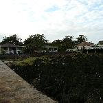 bungalows and ocean view