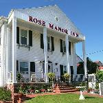Rose Manor Inn entrance