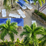small beach at Sunrise Hotel