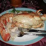 Lobster in Nicole's fine dining restaurant