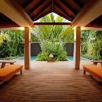 Garden Spa Relaxing Area