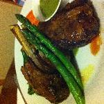 hubby's lamb shank dinner