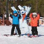 Levi ski school for children with Werneri