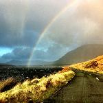 taken thru my windshield while driving thru Connemara in December.