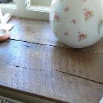 reclaimed oak sills
