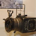 The Hasselblad camera used in the first moon landing