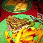 Reuben and fries