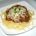 spagethi bolognese yang sangat enak