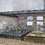 La tombe du marquis de La Fayette
