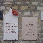 Plaque commémorative du poète Chénier