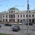 Extension of Main Building Chernivtsi Train Station July 2011