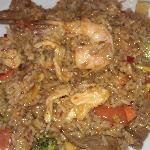 Special: Spicy Fried Rice with Shrimp,Pork,Chicken