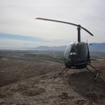 Flight above the Coachella Valley